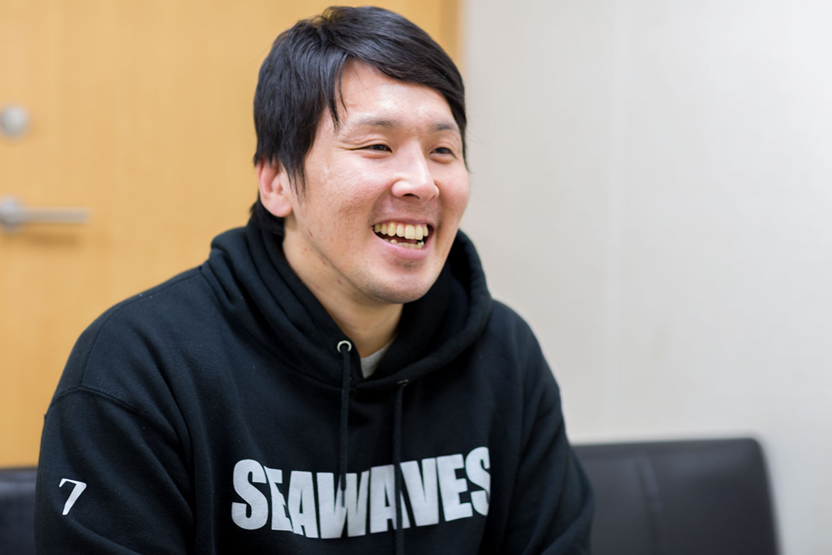 釜石ラグビーインタビュー 佐伯悠さん