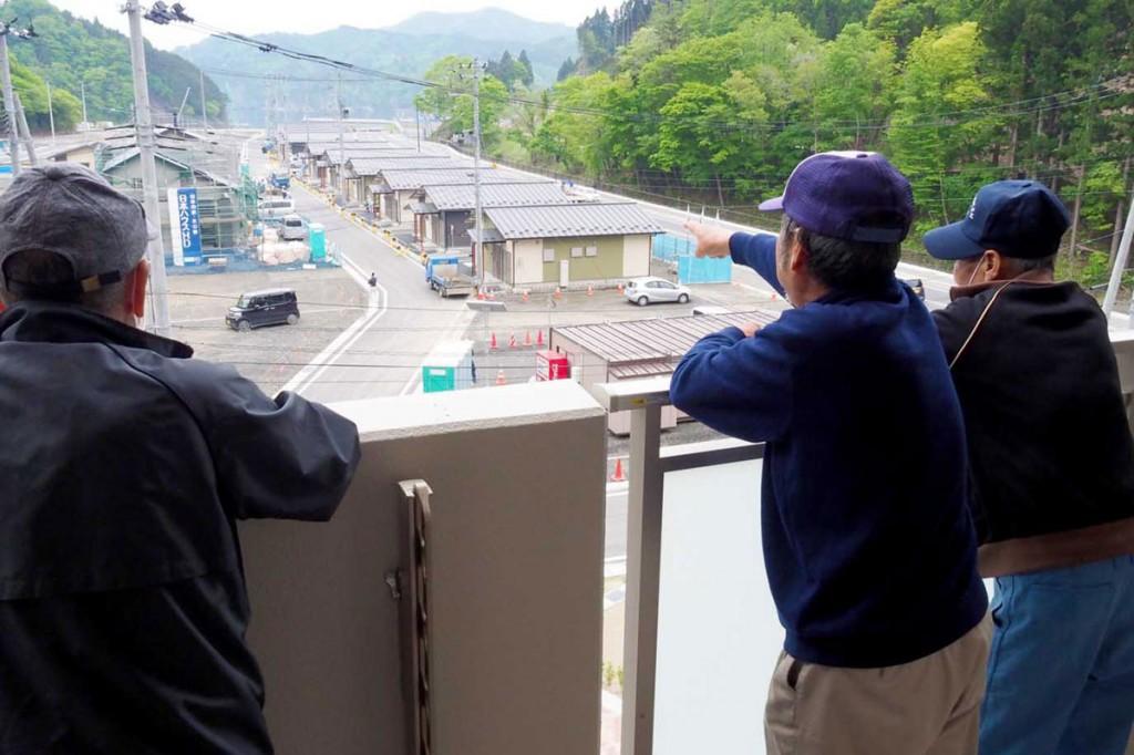 戸建て住宅の整備も進む両石地区