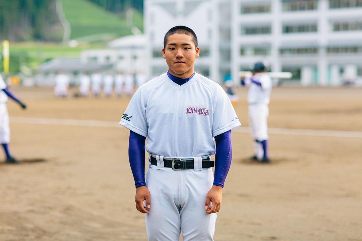岩手県立釜石高等学校 山内キャプテン