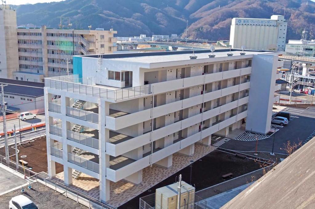 釜石市で最後に完成した浜町復興住宅