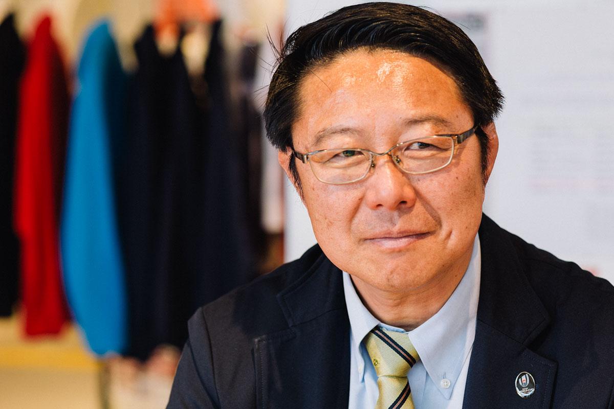 釜石シーウェイブスRFC桜庭吉彦GM兼監督インタビュー