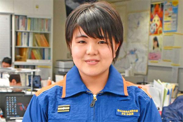 釜石初の女性消防士に〜震災機に防災意識高める、いずれは救急救命士へ