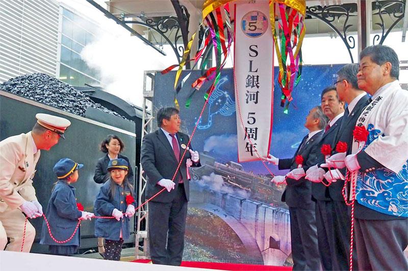 春を運ぶSL銀河〜一番列車釜石に、6年目の運行スタート
