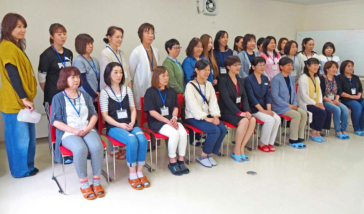 子育て支援員としての活動に意欲を新たにする女性たち