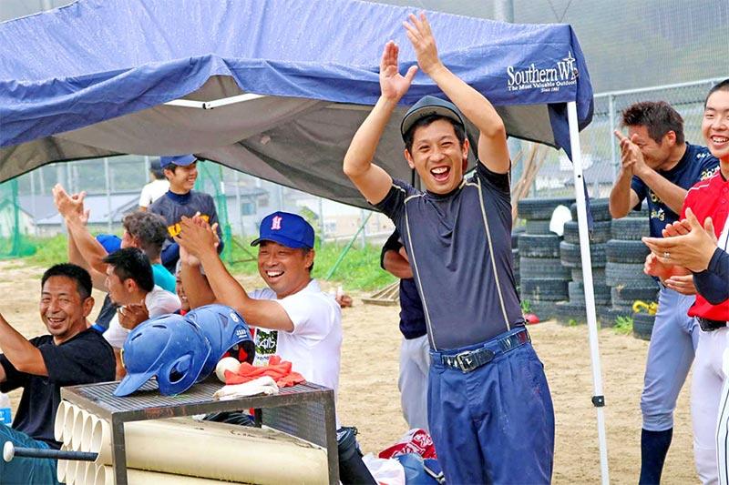 お盆野球 世代を超え熱戦〜震災乗り越え 鵜住居に元気、水野旗争奪 66回目