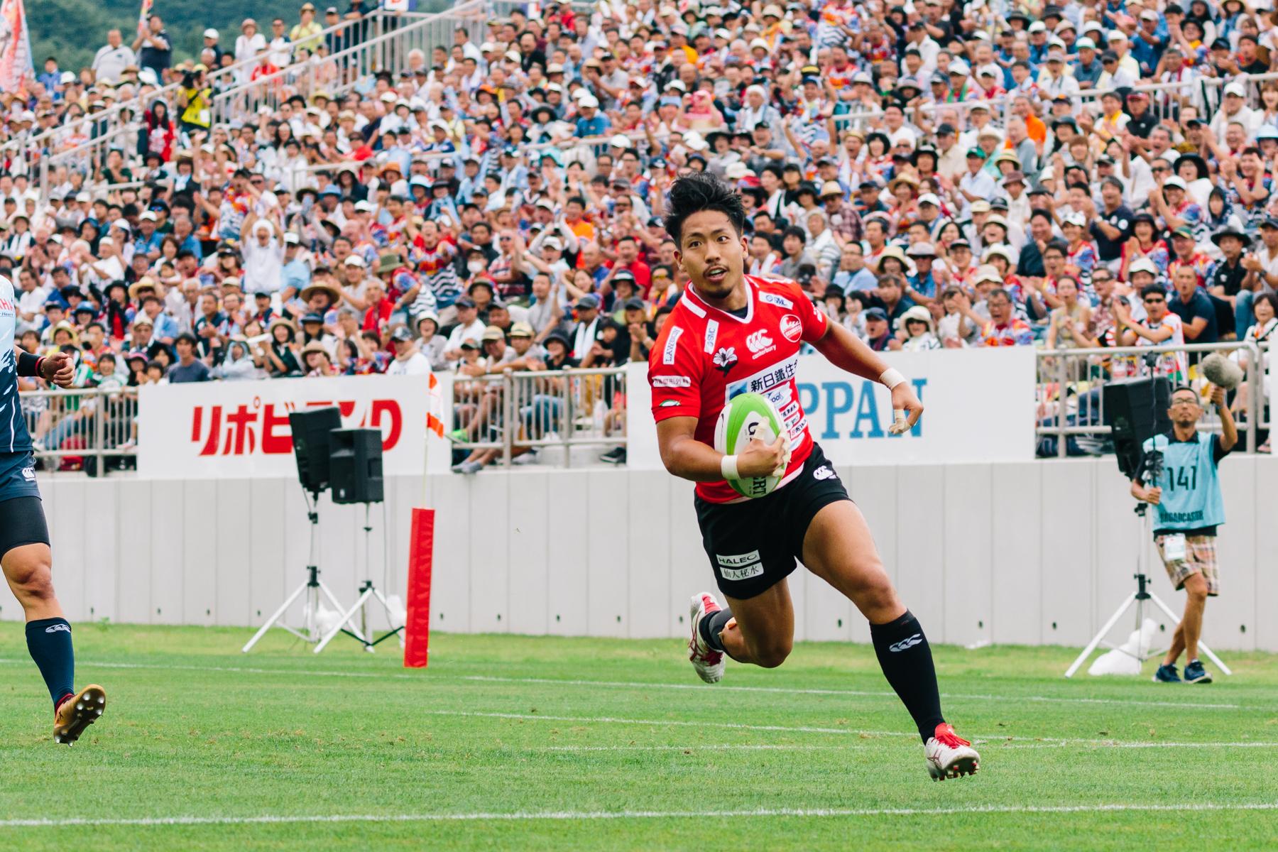 釜石シーウェイブスRFC選手紹介2019 第8弾『二宮昂生選手』