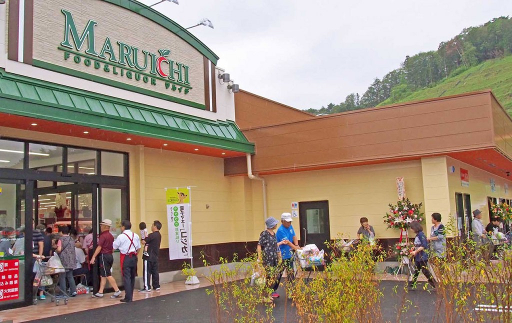 地域住民らが心待ちにした商業施設「うのポート」がオープン