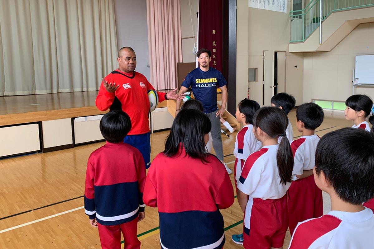 釜石シーウェイブスRFC選手紹介2019 マヘ・トゥビさん