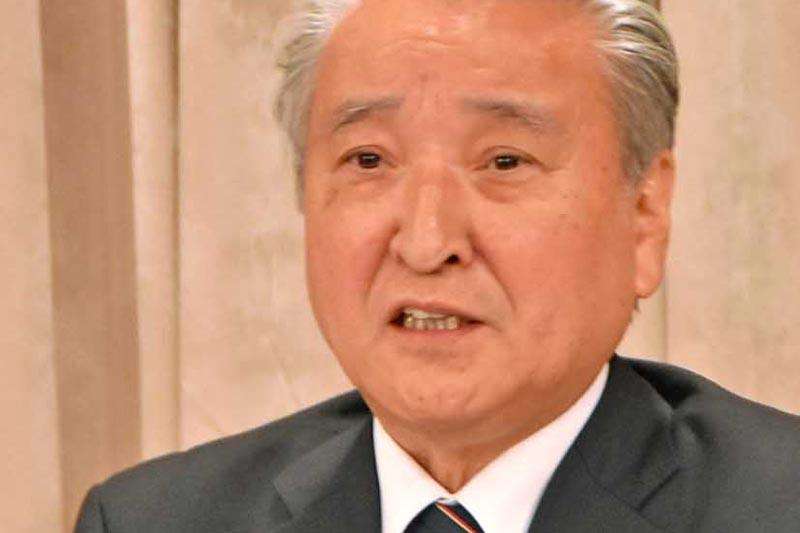 野田氏 次期市長選に出馬表明〜復興完遂へ4選目指す
