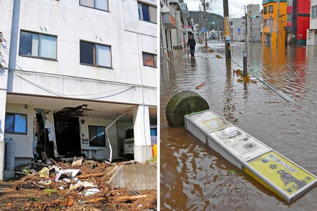 猛烈台風19号 沿岸襲う〜釜石も各地で土砂災害