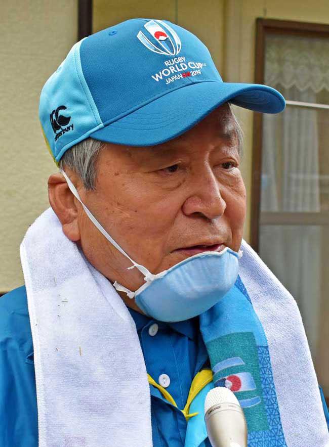 「釜石に感謝の思いを」と嶋津事務総長