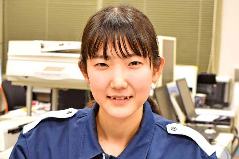 釜石初の女性地域防災対策官に、釜石海上保安任命〜星 晴日さん、新たな挑戦に意欲