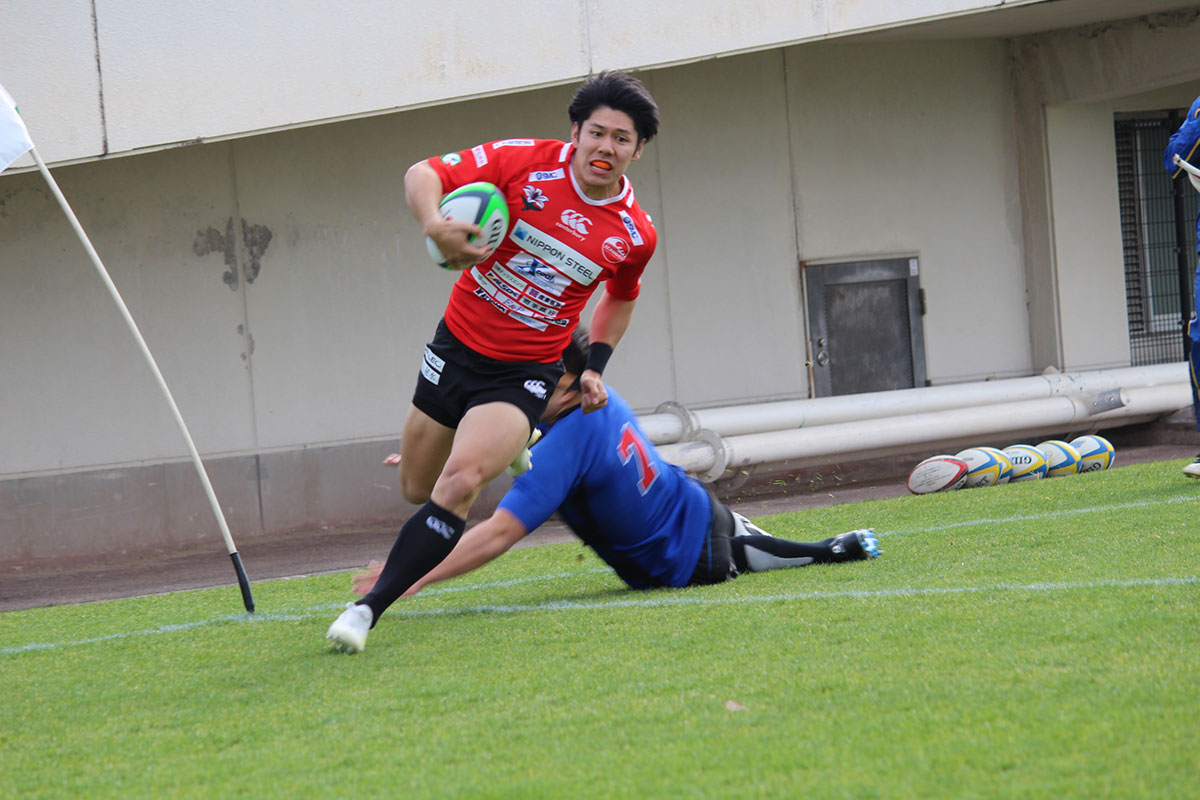 釜石シーウェイブスRFC選手紹介2019シーズン 第15弾『加賀亮太郎選手』