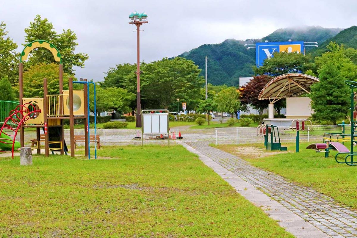 1993年に供用開始した鈴子広場。28年ぶりに新たな姿に生まれ変わる