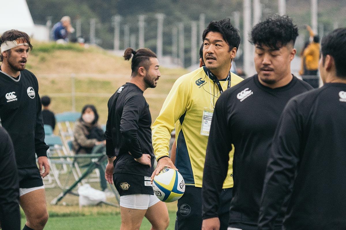 釜石シーウェイブスRFC選手紹介2020-2021シーズンインタビュー 第2弾『須田 康夫 FWコーチ』