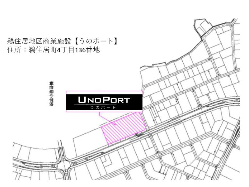 うのポート位置図