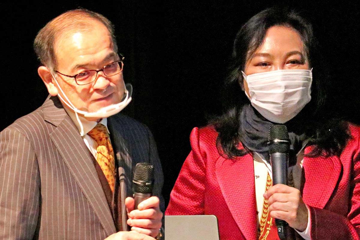 岩手大の小野寺英輝准教授、登録に貢献した加藤康子さん