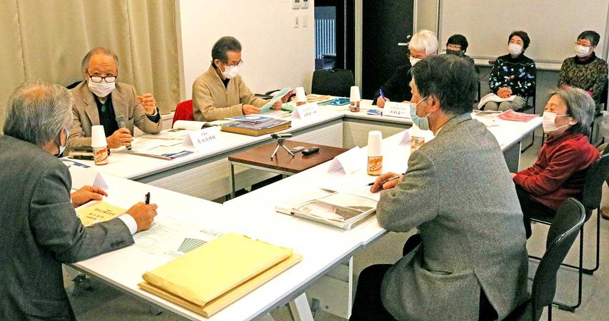 さまざまな思い出話や提言が出された芸文協50周年記念座談会