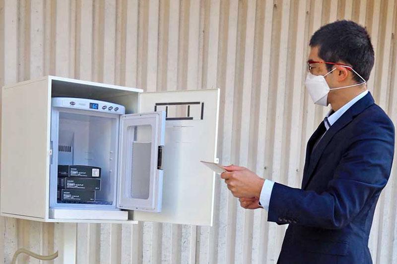 自費PCR検査サービスを拡大、感染リスク抑止へ回収ポスト設置〜薬王堂とセルスペクト、釜石(小佐野・鈴子)2店にスポット