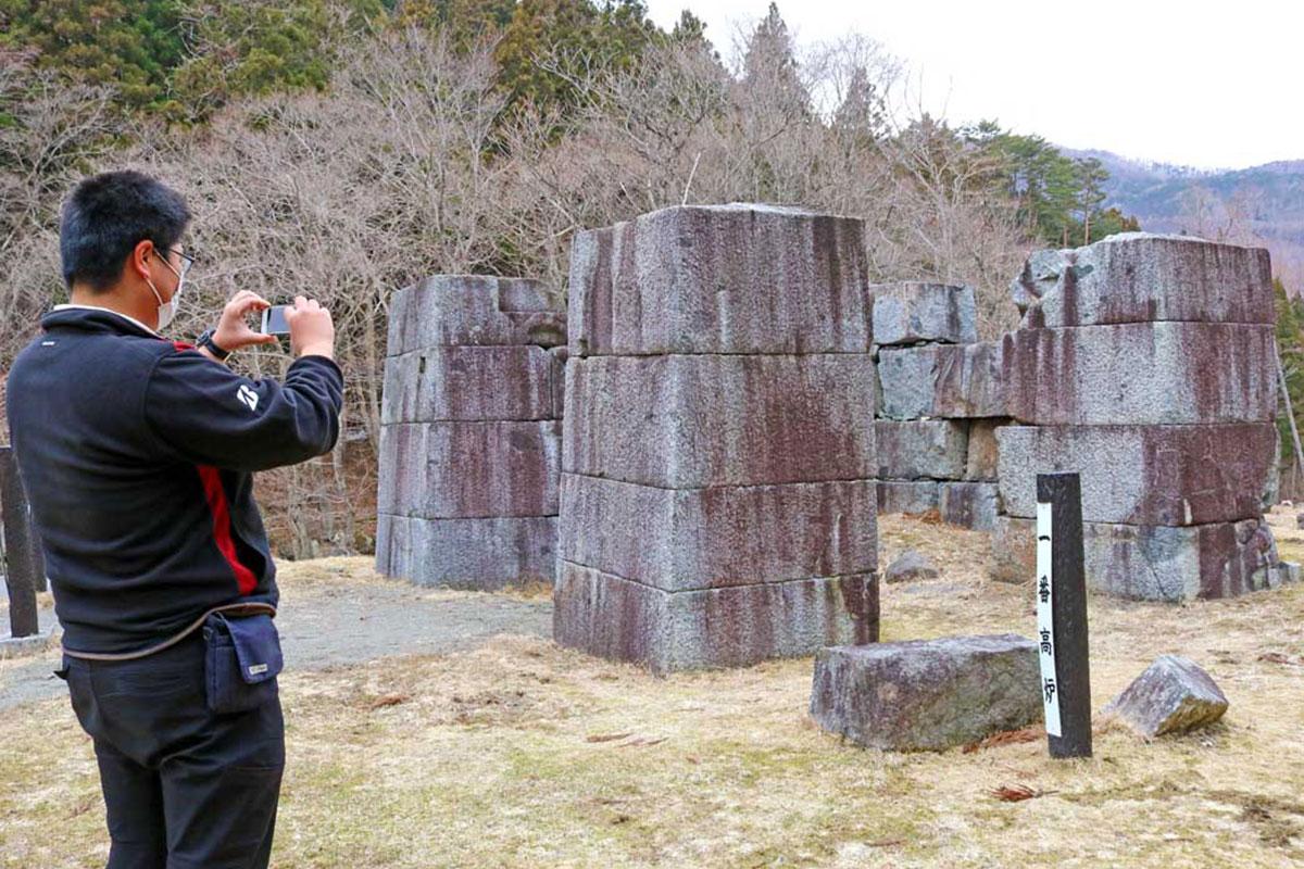 シーズン入りし、観光客増に期待がかかる「橋野鉄鉱山」