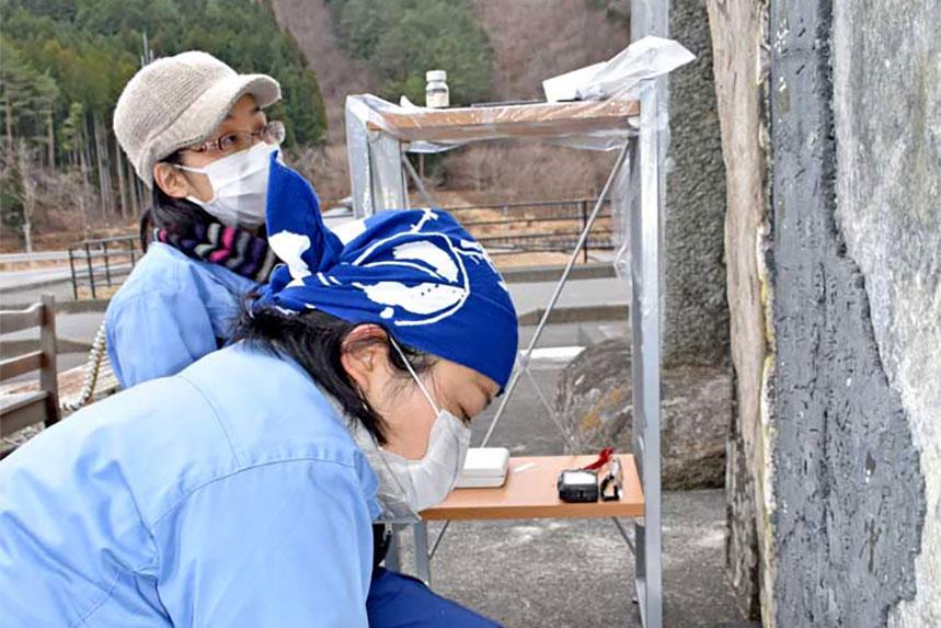 唐丹町本郷 津波記念碑が震災遺構に〜国立民俗学博物館主導で補修