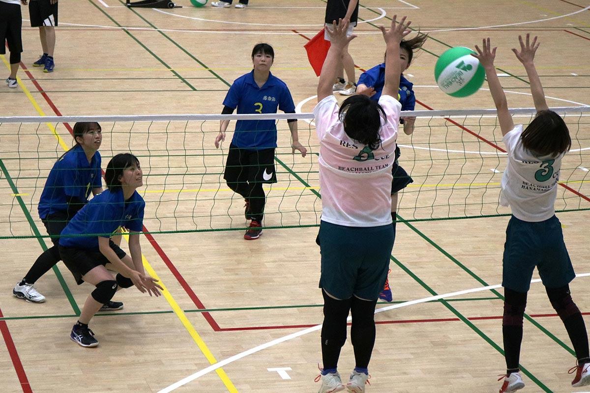 釜石での大会開催を機に同市のビーチボール競技の振興に期待が高まる