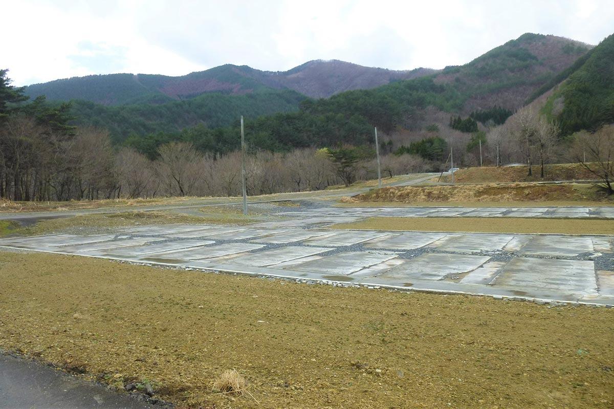 養鶏農場「リアスファーム」の建設予定地(釜石市提供)