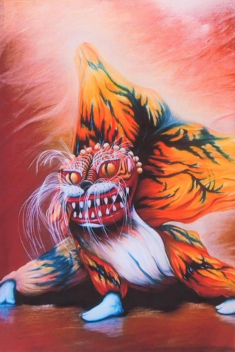 入選作品「三陸虎の舞い」