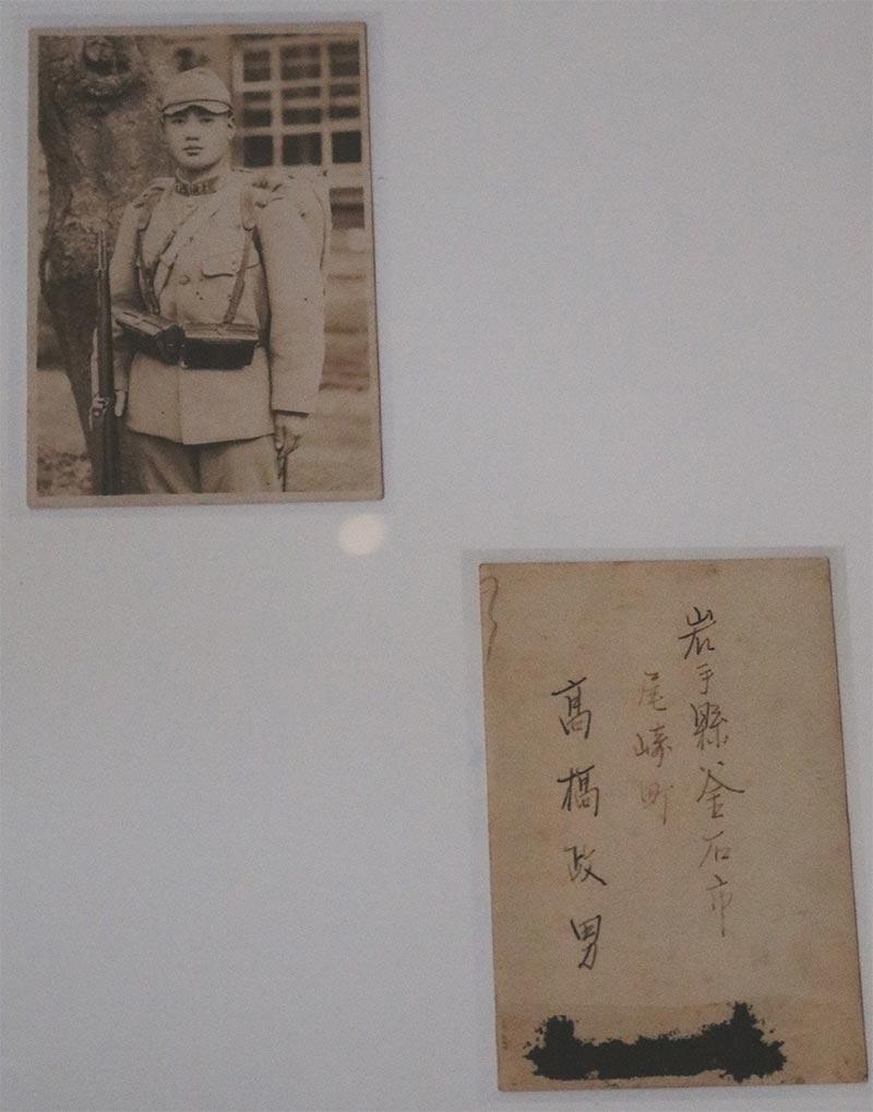 写真の男性の情報をお寄せ下さい。お心当たりの方は 釜石市郷土資料館までご連絡を